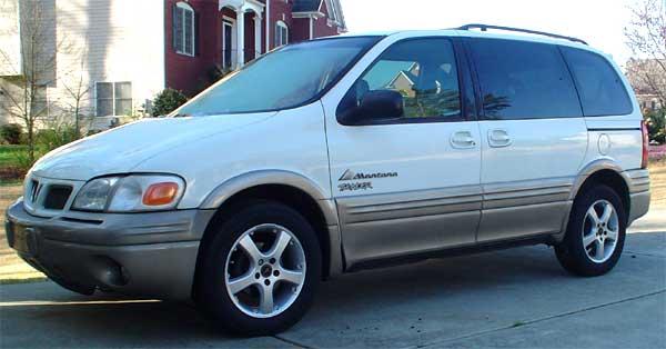 My Pontiac Trans Sport To Montana Upgrade